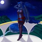 2015 anthro anthrofied areola balcony big_breasts blue_hair breasts clothing equine female friendship_is_magic full_moon garter_belt hair horn legwear lingerie long_hair mammal moon my_little_pony navel nipples outside pabloracer plantigrade princess_luna_(mlp) pussy shooting_star solo stockings translucent transparent_clothing water winged_unicorn wings   Rating: Explicit  Score: 15  User: lemongrab  Date: April 16, 2015