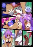 2016 anal anal_penetration anthro bent_over biting_lip blonde_hair blush brown_fur brown_penis canine clothed clothing comic deckland_(tokifuji) dialogue english_text equine erection eyes_closed fellatio forced from_behind_position fur gavin_(tokifuji) girly grey_fur group group_sex hair hi_res horse humanoid_penis leg_grab long_hair looking_up male male/male mammal mostly_nude mustelid one_eye_closed oral pants_down partially_clothed penetration penis purple_hair reggie_(tokifuji) restrained saliva sex sweat tan_fur text threesome thrusting tokifuji tongue tongue_out underwear_down weasel wide_hips wolf  Rating: Explicit Score: 44 User: Jugofthat Date: February 29, 2016