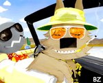 ambiguous_gender ayato bad_craziness bat bat_country cat cloud desert dr_gonzo duo eyewear fear_and_loathing_in_las_vegas feline hunter_s_thompson mammal outside parody raoul_duke sky smoking source_request sunglasses   Rating: Safe  Score: 1  User: msc  Date: March 30, 2007