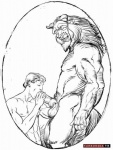 anthro balls beast_(disney) beauty_and_the_beast disney duo erection eyes_closed fellatio furronika human interspecies male male/male mammal muscular nude oral penis pubes sex thick_penis  Rating: Explicit Score: 9 User: nahub Date: March 03, 2012