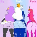 absurd_res adventure_time big_butt butt denizen1414 female group hi_res huge_butt humanoid ice_queen lumpy_space_princess princess_bubblegum  Rating: Questionable Score: 13 User: Den175 Date: September 14, 2014