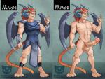 armor claws clothing corruption_of_champions demon_horns fan_character genital_piercing hair loincloth male membranous_wings navel ninjakitty nipples penis piercing red_hair wings yellow_eyes   Rating: Explicit  Score: 1  User: Hobgoblin  Date: October 28, 2013