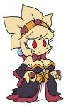 big_breasts bow_tie breasts cleavage clothed clothing crown disgaea dress female hair headband humanoid jewelry kirby_(series) lady_like nintendo praiz red_eyes ring rozalin simple_background smile solo video_games white_background  Rating: Safe Score: 4 User: Juni221 Date: December 15, 2013