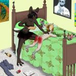 2015 age_difference anthro babysitter bat bedroom butt canine chihuahua cub dei dog duo female female/female fruit_bat hi_res lobadelaluna mammal paddle reddened_butt spanking tears toothpaste youngRating: ExplicitScore: -10User: CatScratchofDoomDate: February 01, 2018