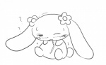 ? black_and_white blush canine cinnamoroll dog drooling female flower fluffy_fluffy_cinnamoroll hairpin japanese long_ears mammal mocha monochrome pixiv plant saliva sanrio solo sweat   Rating: Questionable  Score: 1  User: CloverTheRabbit  Date: February 10, 2015