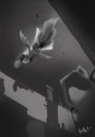 ambiguous_gender assassin's_creed equine mammal monochrome my_little_pony night pegasus stars unknown_artist video_games wings   Rating: Questionable  Score: 3  User: Soarin'  Date: June 16, 2011