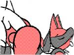 all_fours anal anal_penetration animated backsack balls butt canine doggystyle duo eyes_closed from_behind human interspecies lucario male male/male mammal nintendo open_mouth penetration penis pokémon sex solo_focus strawberrydog tongue tongue_out video_games  Rating: Explicit Score: 15 User: ElctrcBoogalord Date: May 26, 2014
