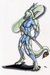 2010 abs anthro antlers asian balls biceps blue_penis blue_skin claws dragon eastern eastern_dragon flaccid gemstone green_claws green_eyes green_nipples green_skin horn humanoid_penis jade male melee_weapon muscular nipples nude oriental pecs penis pinup pose presenting reptile scales scalie solo standing sword toe_claws toned weapon whiskers wolfgangcake  Rating: Explicit Score: 3 User: syrmat Date: November 09, 2013
