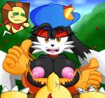 2015 big_breasts bra breasts canine clothing crossgender feline female huge_breasts klonoa klonoa_(series) male mammal nipples penis popka puffy_nipples sex slickehedge tight_clothing titfuck underwear video_games  Rating: Explicit Score: 2 User: SonicX78 Date: November 08, 2015