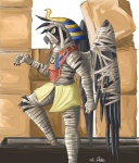 2006 ambiguous_gender anthro audie-gryph avian bird mummy raven solo undead yellow_eyes   Rating: Safe  Score: 1  User: Lizardite  Date: January 01, 2015