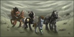 armor calamity_(mlp) equine fallout fallout_equestria fan_character female feral group hair hat horn horse idess littlepip male mammal my_little_pony pegasus pony power_armor ranged_weapon rock rocket_launcher steelhooves_(mlp) unicorn velvet_remedy_(mlp) video_games wasteland weapon wings  Rating: Safe Score: 6 User: Spitfire Date: June 11, 2011""