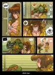 akabur anthro april_o'neil breasts comic falcon_punch female human male mammal michelangelo_(tmnt) pictographics reptile scalie speech_bubble teenage_mutant_ninja_turtles turtle  Rating: Explicit Score: 7 User: gronclecronkite Date: May 03, 2011