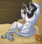 anthro avian bird charr chicken claws fangs feline fur guild_wars hair horn male mammal mane multi_ear tepidtea video_gamesRating: QuestionableScore: -1User: IkoSaedaDate: August 20, 2017