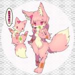 canine cute female feral fox fur hair kemono leaf loli long_hair mammal pink_eyes pink_fur pink_hair young 紺座   Rating: Questionable  Score: 2  User: KemonoLover96  Date: May 24, 2015