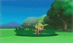 >:( ambiguous_gender animated attack battle chespin cute english_text fin fish flop grass humor lying magikarp marine nintendo open_mouth plant pokémon raised_arm standing teeth text tree unknown_artist video_games whiskers young  Rating: Safe Score: 14 User: WiiFitTrainer Date: January 27, 2013