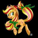 2014 alpha_channel apple applejack_(mlp) blonde_hair bow cowboy_hat cutie_mark earth_pony equine female freckles friendship_is_magic fruit fur green_eyes hair hair_bow hat horse mammal multicolored_hair my_little_pony open_mouth orange_fur pony rainbow_power red_hair ribbons shiny simple_background solo sparkles swanlullaby transparent_background two_tone_hair  Rating: Safe Score: 11 User: 2DUK Date: June 10, 2014