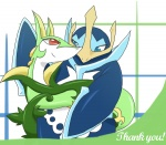 avian bird blush coiling cute duo empoleon female feral flippers kajinchu love male nintendo penguin pokémon reptile scalie serperior smile snake video_games  Rating: Safe Score: 0 User: conkerfan Date: October 15, 2011