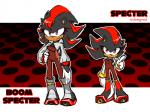anthro cleavage clothed clothing crossgender gloves hedgehog mammal red_eyes shadow_the_hedgehog solo sonic_(series) thegreatrouge  Rating: Safe Score: 4 User: Juni221 Date: July 19, 2015