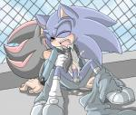 anal anal_insertion anal_penetration angelofhapiness blush clothing cum cum_in_ass cum_inside duo eyes_closed footwear gloves hedgehog insertion male male/male mammal necktie penetration school_uniform sex shadow_the_hedgehog shoes sonic_(series) sonic_the_hedgehog  Rating: Explicit Score: 0 User: Untamed Date: August 15, 2015
