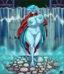 2014 areola big_breasts blue_skin breast_fondling breast_grab breasts crown erect_nipples female fondling front_view huge_breasts looking_at_viewer lurkergg navel nipples pink_eyes plump_labia princess_ruto pussy solo the_legend_of_zelda video_games voluptuous wide_hips zora   Rating: Explicit  Score: 9  User: Robinebra  Date: February 25, 2014