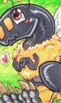 2015 <3 ambiguous_gender antennae arthropod bee blush carnival_(artist) claws cute dinosaur feral fur insect marker_(artwork) outside raptor scalie shy simple_background smile solo traditional_media_(artwork) wings  Rating: Safe Score: 3 User: Koujaku Date: September 26, 2015