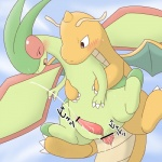 aerial_sex anal anal_penetration animal_genitalia animal_penis blue_background censored cum cum_in_ass cum_inside cum_while_penetrated cumshot dragonite duo feral feral_on_feral flygon flying from_behind_position genital_slit hands-free iro_suzume japanese_text male male/male nintendo orgasm orgasm_face penetration penis pokémon sex simple_background slit tapering_penis text video_games ぃろすずめ  Rating: Explicit Score: 9 User: Afterglow Date: April 02, 2016