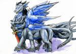 cervelet dragon dragontaur drognarus horn male melee_weapon multi_arm multi_eye multi_leg multi_limb multi_tail multi_wing polydactyly sword taur thick_tail weapon wingsRating: SafeScore: 1User: mutanimalDate: April 29, 2017