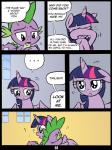 ! 2014 absurd_res comic crying dialogue dragon duo english_text equine female friendship_is_magic fur hair hi_res horn hug male mammal multicolored_hair my_little_pony open_mouth princess purple_fur purple_hair redapropos royalty sleeping spike_(mlp) tears text twilight_sparkle_(mlp) winged_unicorn wings   Rating: Safe  Score: 9  User: Robinebra  Date: May 07, 2014