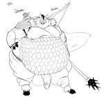 2013 archer armor balls belly big_balls big_penis boar bow cape fur leggings long_penis male mammal moobs nipples obese overweight penis polearm porcine riis scalemail solo spear   Rating: Explicit  Score: 1  User: I_Sir_Wolf  Date: March 10, 2014