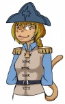 belt bicorne braided_hair brown_eyes clothed clothing commissar ein_(artist) female french hair hat ironclaw_pnp madeleine_(character) mammal monkey primate solo uniform   Rating: Safe  Score: 1  User: Madeleine  Date: April 09, 2015