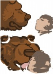 bear bestiality dakota-bear feral grizzly_bear human interspecies kissing male male/male mammal   Rating: Questionable  Score: 1  User: Vinea  Date: May 17, 2015