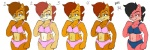 anthro aval0nx black_hair blue_eyes bra brown_hair chipmunk clothing female hair mammal navel panties red_hair rodent sally_acorn smile sonic_(series) underwear  Rating: Questionable Score: 1 User: Robinebra Date: January 13, 2013""
