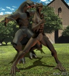 2013 3d alien animal_genitalia anthro barn black_jackal cgi dragon duo genital_slit grass halo_(series) male male/male nude pose reny_(artist) sangheili scalie slit smile tree video_games   Rating: Explicit  Score: 3  User: S=K_log_W  Date: January 08, 2015
