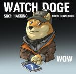 anthro canine clothing dog doge english_text fur greytonano humor looking_at_viewer male mammal meme phone plain_background shiba_inu solo tan_fur text video_games watch_dogs   Rating: Safe  Score: 27  User: Vergil.exe  Date: March 23, 2015