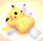 bottle dayan diaper male mouse nintendo open_eyes pikachu pokémon rodent spread_legs spreading video_games   Rating: Safe  Score: 1  User: Luminocity  Date: July 31, 2013