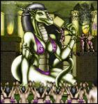 2003 anthro black_hair bra breasts butt claws clothed clothing dragon english_text female fire green_scales grey_hair group hair half-dressed holding horn human imminent_vore inside jewelry loincloth male mammal markie navel scalie size_difference text topless underwear vore worship yellow_eyes   Rating: Questionable  Score: 0  User: GameManiac  Date: March 30, 2015