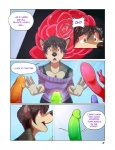 2014 anthro canine clothed clothing comic dildo english_text female fur hair mammal roanoak sandra sex_toy text wolf  Rating: Explicit Score: 46 User: skulblakka Date: August 27, 2014