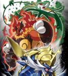 emboar group nintendo official_art pokémon samurott serperior video_games  Rating: Safe Score: 1 User: Rad_Dudesman Date: September 03, 2015