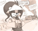 anthro calculator car chopsticks crash dogyd english_text eyes_closed female hat humor li_li_stormstout monochrome pandaren sign solo stereotype text video_games warcraft world_of_warcraft  Rating: Safe Score: 27 User: ROTHY Date: May 07, 2015