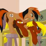 """anal anal_penetration animal_genitalia balls duo equine erection fan_character horsecock hoverrover male male/male mammal my_little_pony open_mouth penetration penis tongue tongue_out  Rating: Explicit Score: 7 User: Sofi Date: June 14, 2015"""""""