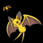 fusion nintendo pikachu pokemon_fusion pokémon sea-salt video_games zubat   Rating: Safe  Score: 9  User: darknessRising  Date: August 08, 2013