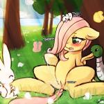 2015 angel_(mlp) anus arthropod avian bird blush butterfly cub duck equine female feral fluttershy_(mlp) friendship_is_magic green_eyes hair horse insect lagomorph lumineko mammal masturbation mouse my_little_pony nature open_mouth orgasm outside pink_hair pony pussy pussy_ejaculation pussy_juice rabbit rodent spread_legs spreading tears tongue tree vaginal young  Rating: Explicit Score: 23 User: Egekilde Date: July 31, 2015