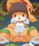 anthro bear blush brown_fur brown_hair crepix female fur hair kemono mammal open_mouth penetration pussy solo tentacle_sex tentacles young   Rating: Explicit  Score: 2  User: KemonoLover96  Date: April 29, 2015