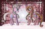 2013 blue_eyes brown_fur brown_hair brown_skin butt crossover crown cutie_mark digital_media_(artwork) disney duo earth_pony equine female feral frozen_(movie) fur hair horn horse mammal my_little_pony nude pink_skin ponification pony ponytail princess_anna_(frozen) queen_elsa_(frozen) raptor007 snow unicorn white_fur white_hair   Rating: Safe  Score: 3  User: GameManiac  Date: March 25, 2015