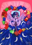 <3 balls bed bedroom_eyes book cum equine feathers friendship_is_magic fur hair half-closed_eyes herm hooves horn inside intersex long_hair looking_at_viewer lying mammal my_little_pony mysticalpha on_back penis pillow presenting purple_eyes purple_fur purple_hair pussy pussy_juice smile solo twilight_sparkle_(mlp) two_tone_hair winged_unicorn wings   Rating: Explicit  Score: 5  User: OptimalPrime  Date: February 19, 2015