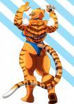 anthro biceps big_muscles bikini clothing feline female kung_fu_panda mammal master_tigress muscles muscular_female pawpads paws pose sleuth solo swimsuit tiger   Rating: Safe  Score: 3  User: Bubba  Date: July 02, 2014