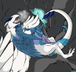 2013 articuno avian backlash91 beak bird blue_feathers cave claws duo feathers legendary_pokémon lugia lying male nintendo penetration penis pokémon sex size_difference steam toe_claws video_games wings   Rating: Explicit  Score: 0  User: Finchmaster  Date: March 08, 2014