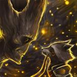 2014 alien anthro crying duo flora_fauna groot guardians_of_the_galaxy humanoid male mammal marvel maxkennedy plant raccoon rocket_raccoon tears   Rating: Safe  Score: 7  User: slyroon  Date: February 05, 2015