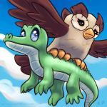 2015 alligator avian bird duo feral flying friendship_is_magic gummy_(mlp) karol_pawlinski male my_little_pony owl owlowiscious_(mlp) reptile scalie  Rating: Safe Score: 3 User: Robinebra Date: August 01, 2015