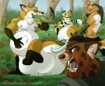 belly bulletproof canine cheetah corgeh feline fish fox gun male mammal marine melee_weapon morbidly_obese overweight ranged_weapon spots stuffing sword tail_in_mouth taur vore weapon  Rating: Questionable Score: 2 User: caijah Date: September 19, 2010